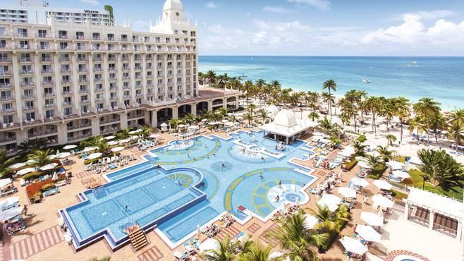 Hotel no Caribe